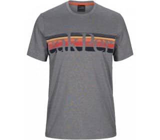 Peak Performance Explore Tee Stripe Print Men T-Shirt