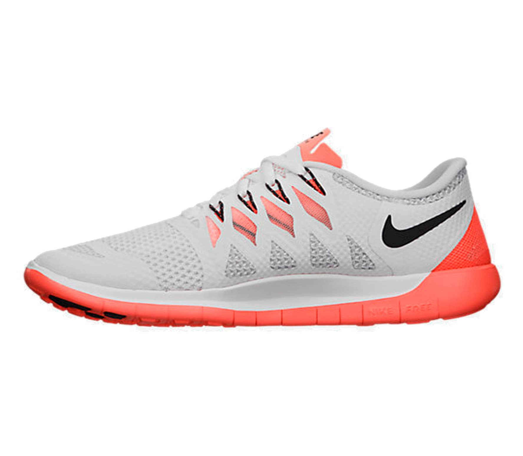new concept 6139b 916c7 Nike - Free 5.0 women s running shoes (white orange)