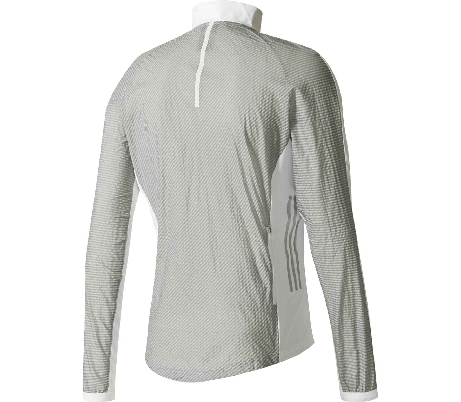 Activewear White Comfortable And Easy To Wear Adidas Adizero Track Mens Running Jacket