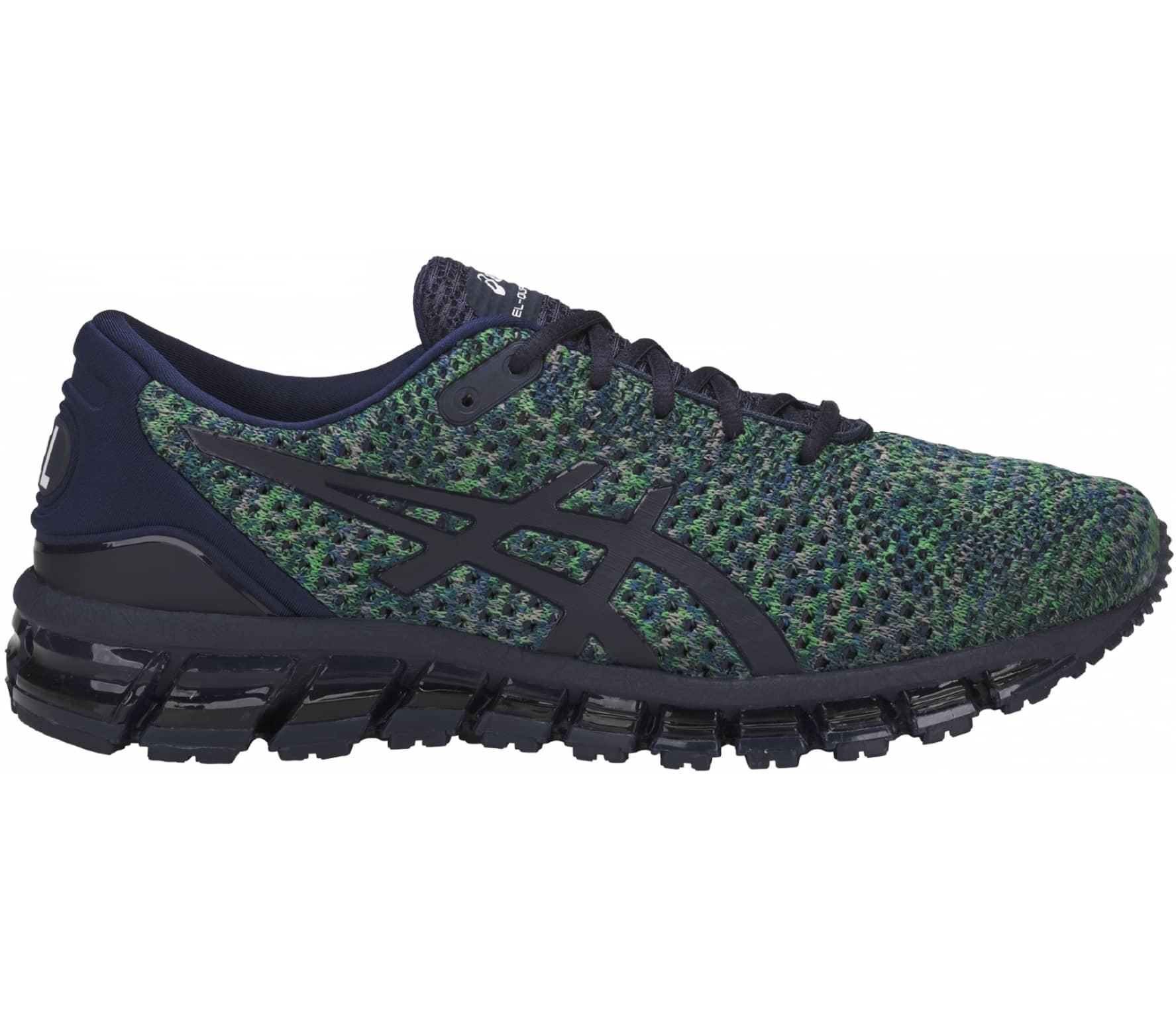 huge selection of 605e0 cf362 ASICS - GEL-Quantum 360 Knit 2 men s running shoes (dark blue green