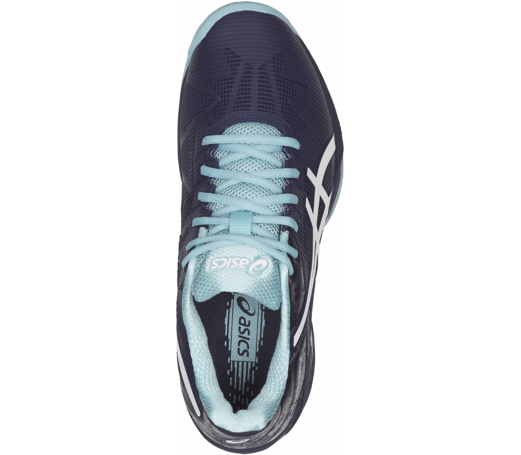3098539a231aa ASICS - Gel-Solution Speed 3 Clay Mujer Zapato de tenis (azul oscuro ...