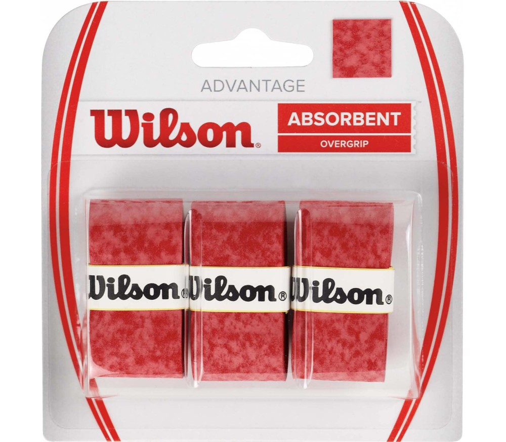 Wilson - Advantage Griffband (rot)