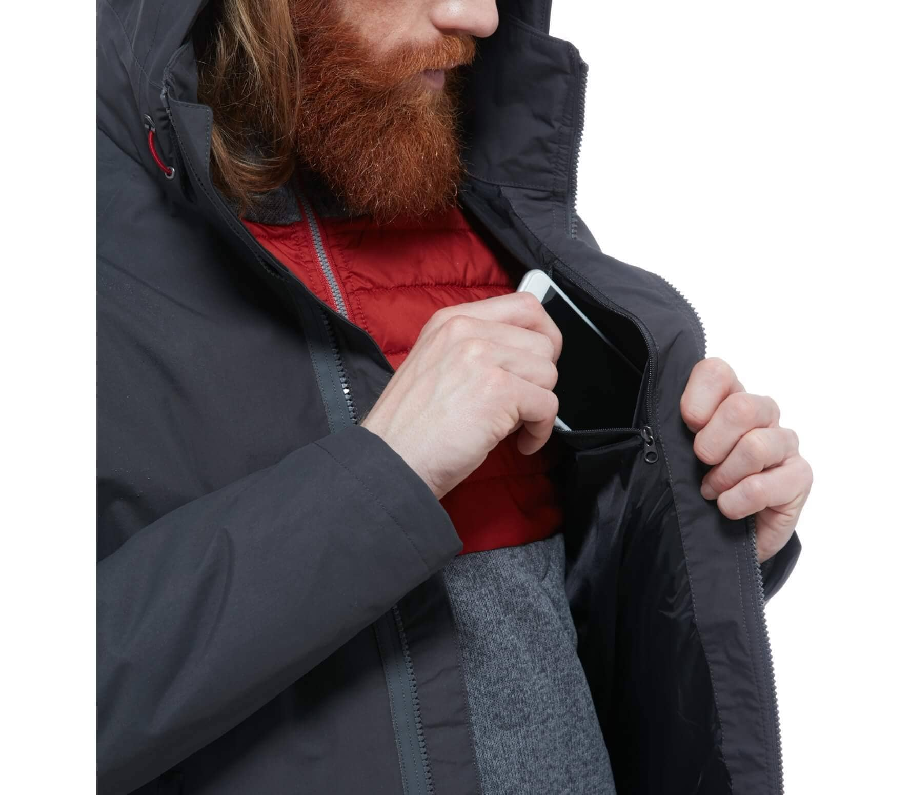 the north face brownwood triclimate jacket