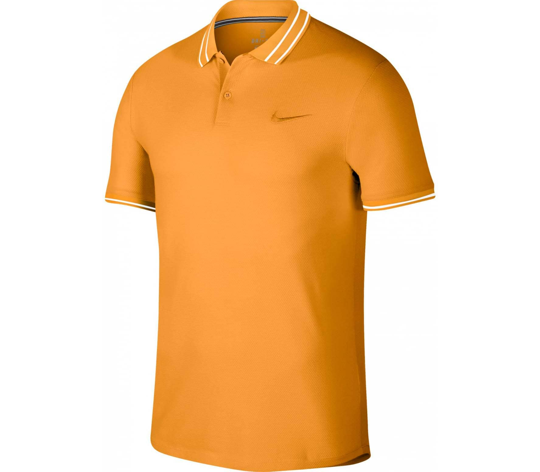 Nike - Court Advantage Herren Tennispolo (gelb)