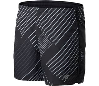New Balance Printed Accelerate 5in Herren Shorts