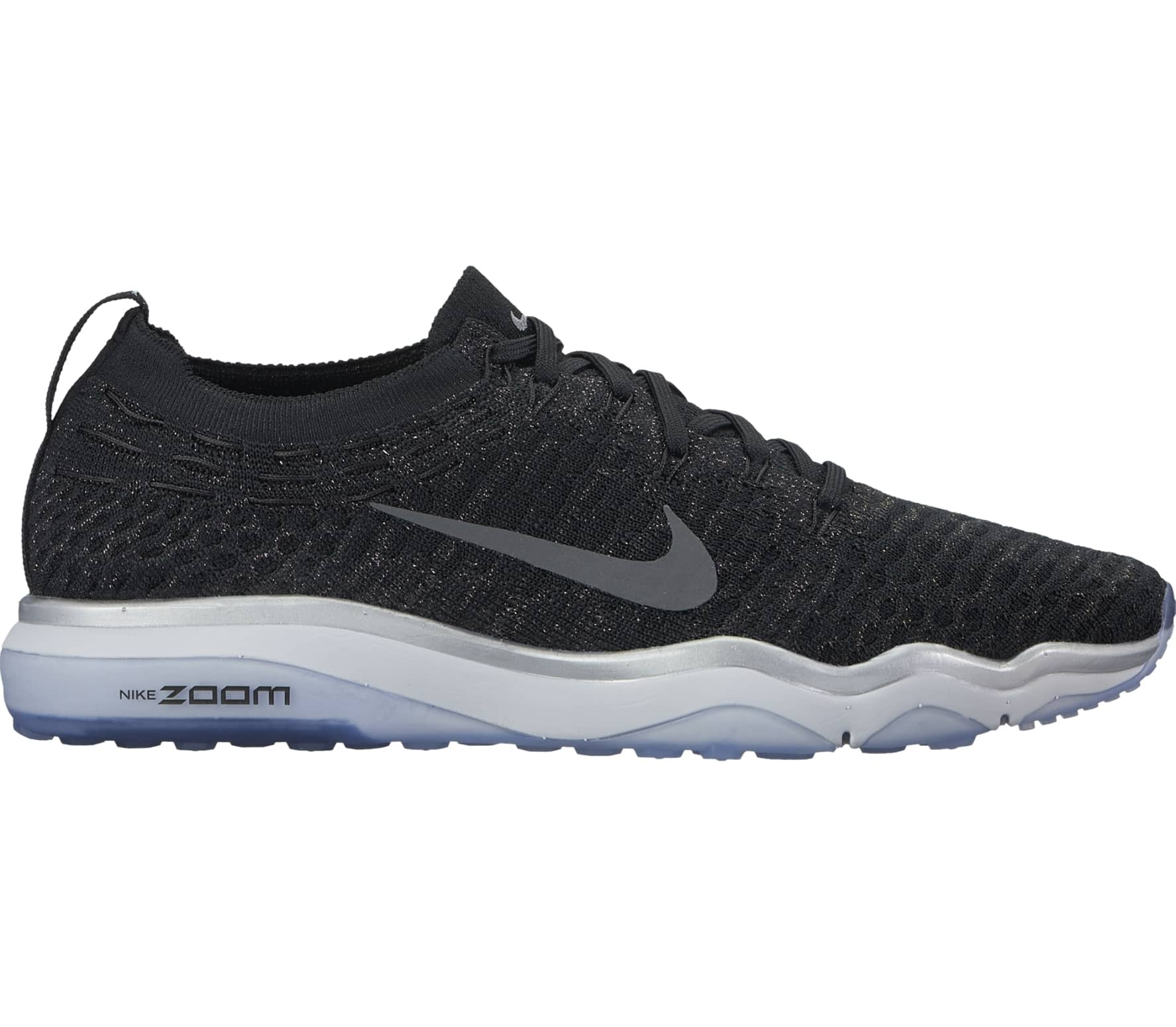 outlet store 4c6f2 71241 Nike - Air Zoom Fearless Flyknit Metallic Dames training Shoe (zwart/wit)