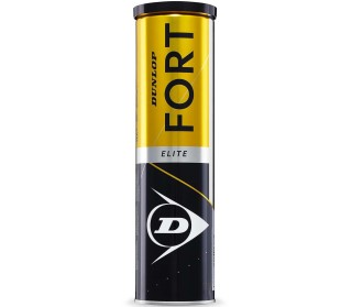Dunlop Fort Elite - 4er Dose Tennisbälle