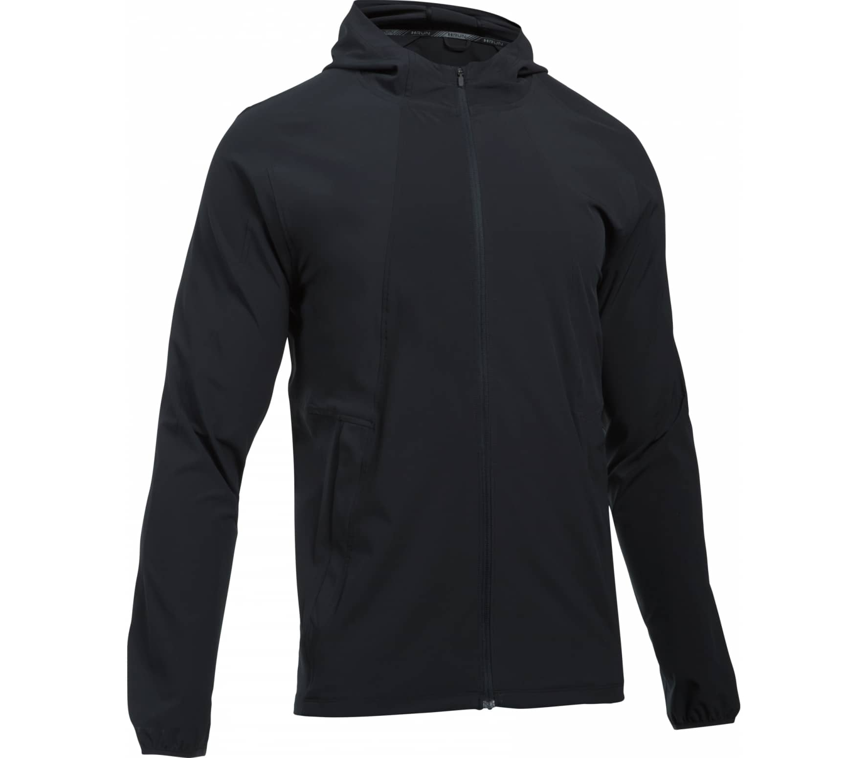 Under Armour - Outrun The Storm men's running jacket (black) - S thumbnail