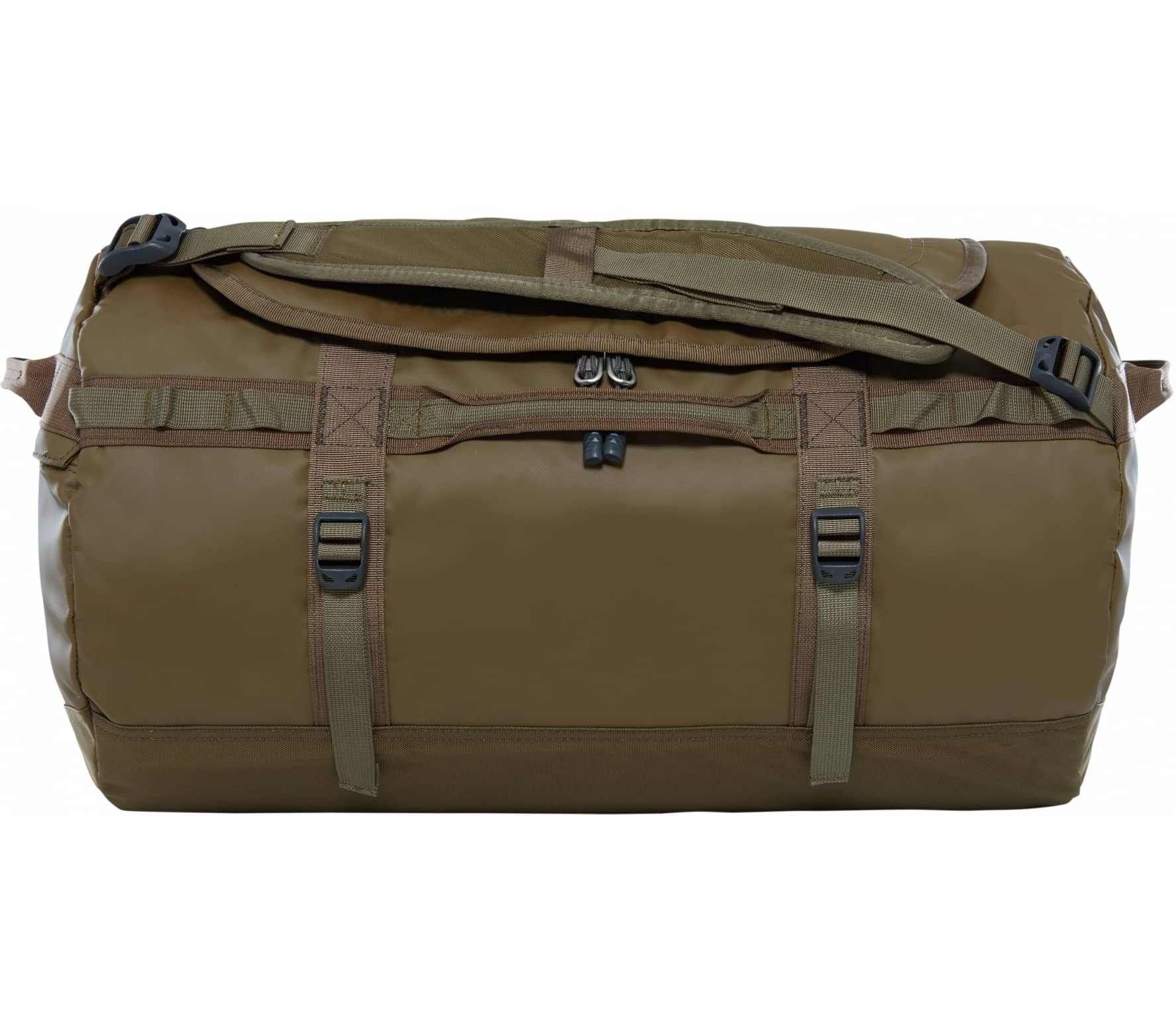 The North Face - Base Camp S duffel bag (dark green/olive green) thumbnail