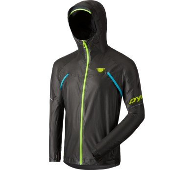 Dynafit - Ultra Gore-Tex® Shakedry men's running jacket (grey/yellow)