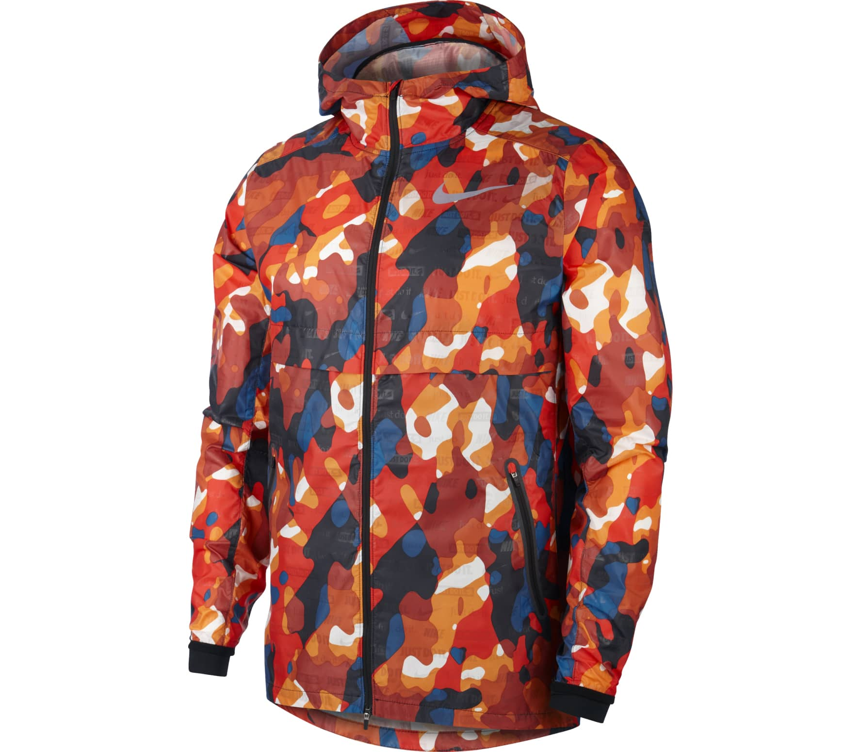 best sneakers f3c35 9b790 Nike - Shield Ghost Flash men s running jacket (mehrfarbig)