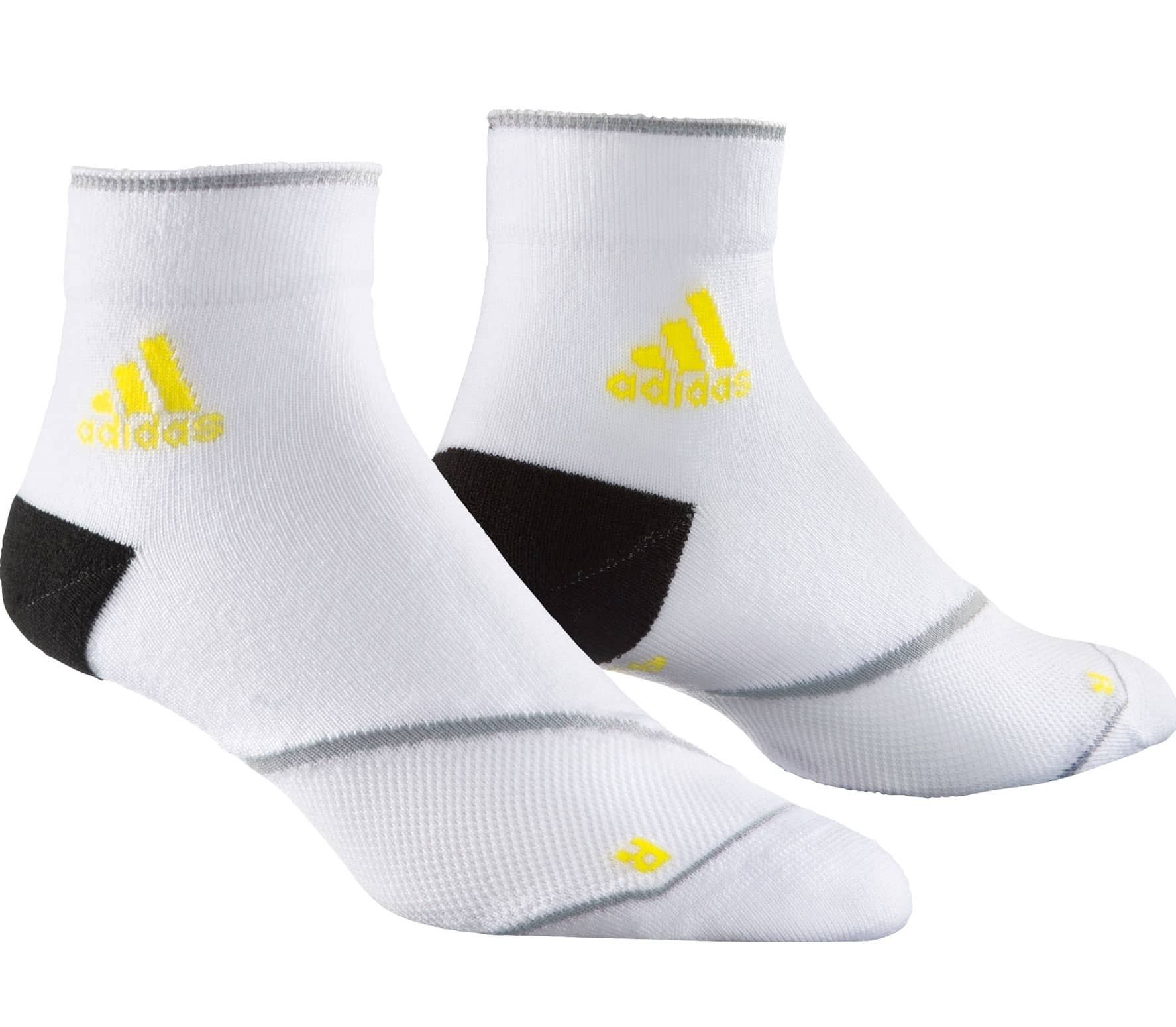 2-pair Of Adidas Adizero Tc Ankle Sock Running Socks Cushion Running Sport Sock Men's Clothing Clothing & Accessories