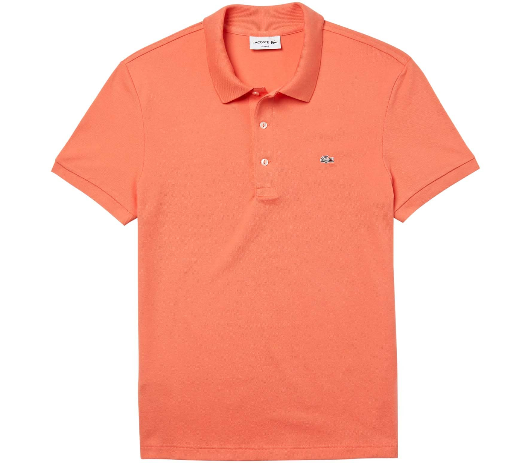 Lacoste Slim Fit Herren Poloshirt orange