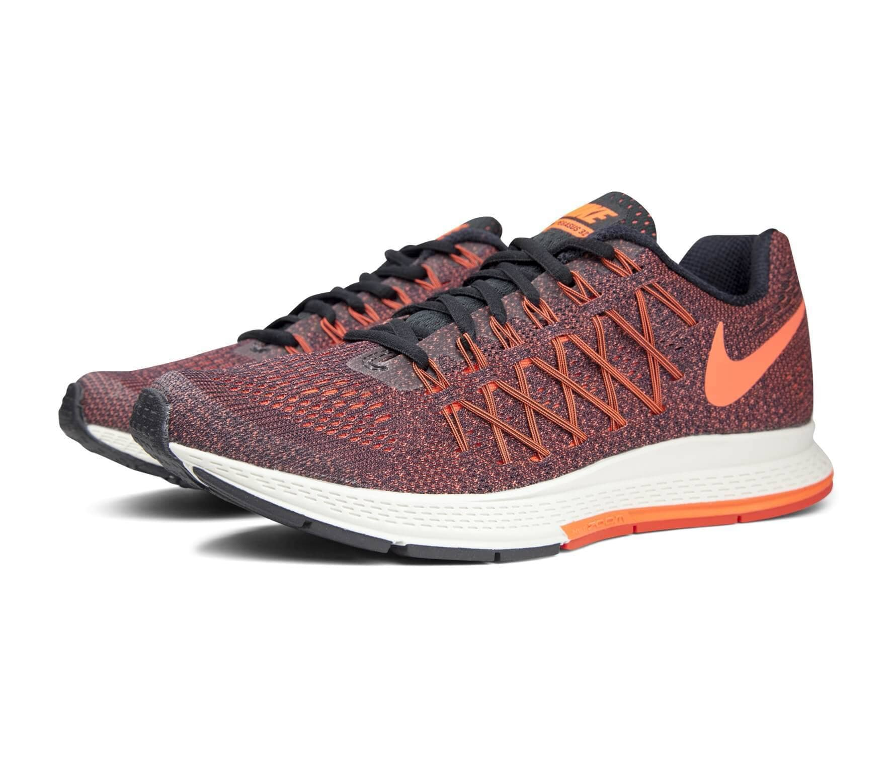 27e5a88024f9b Nike - Air Zoom Pegasus 32 women s running shoes (black orange ...