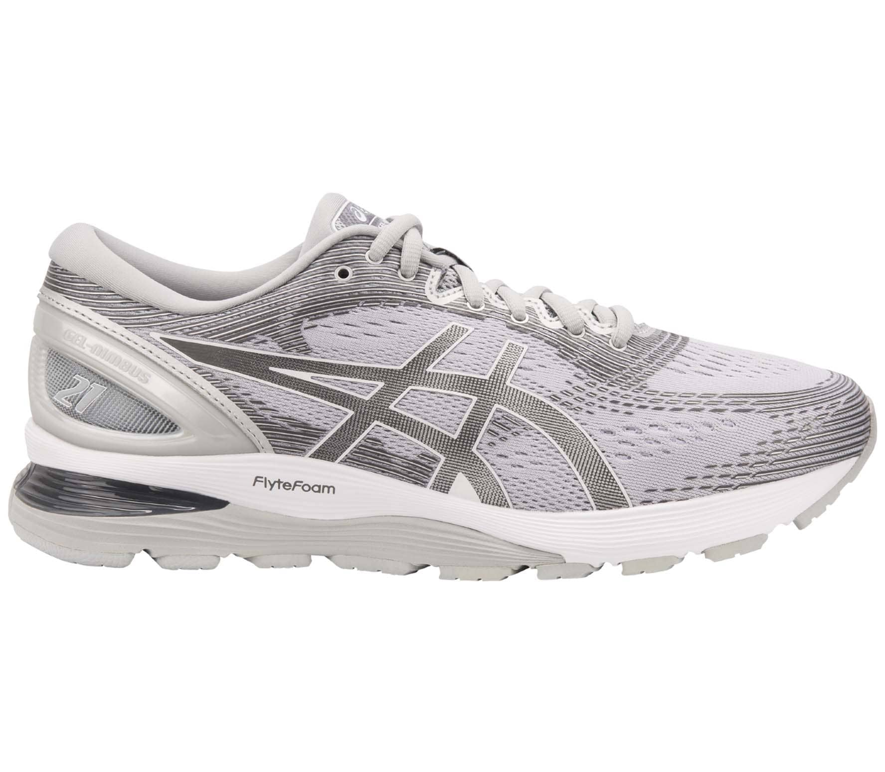 ASICS - Gel-Nimbus 21 men's running shoes (grey)