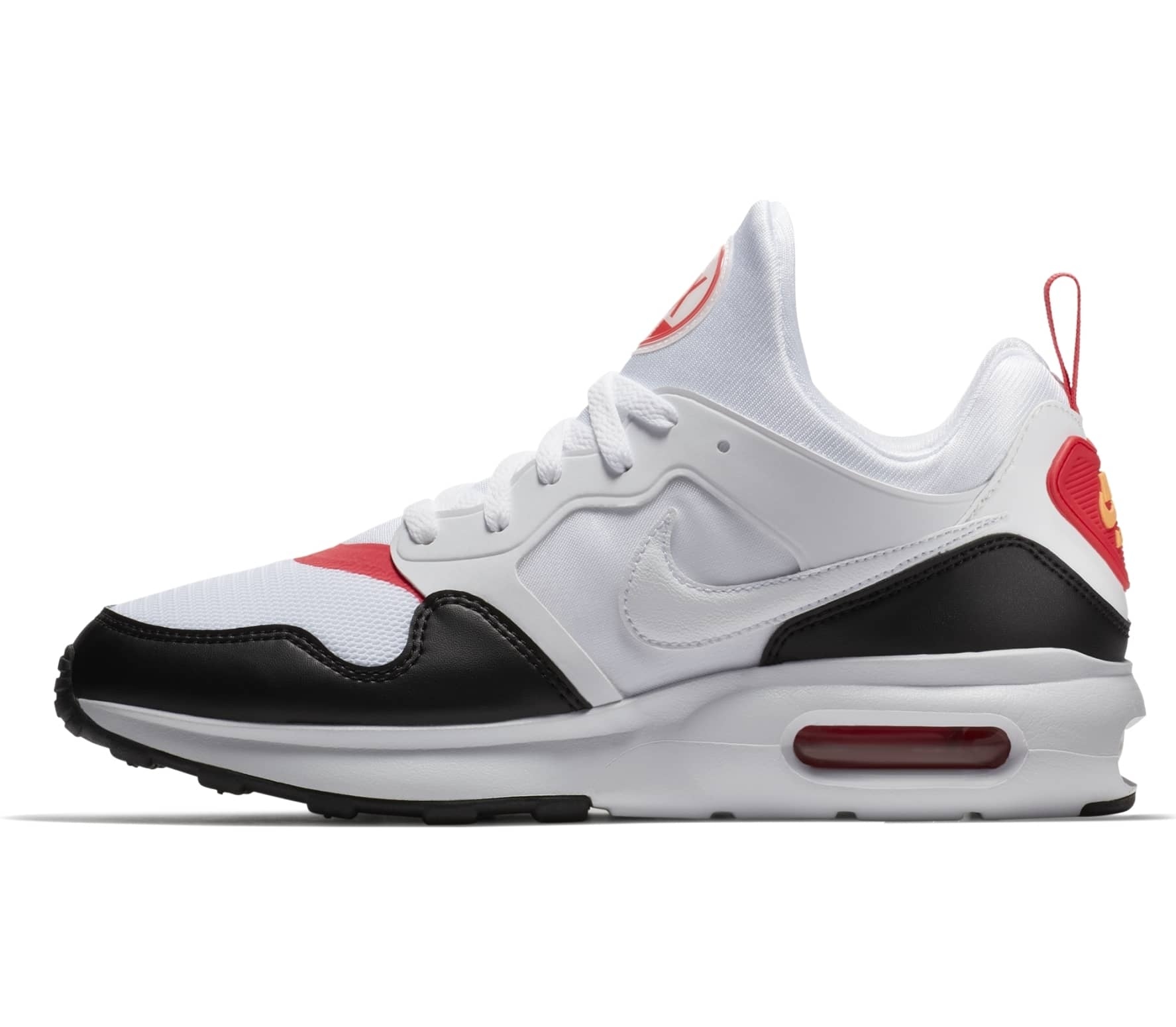 nike air max wit zwart heren
