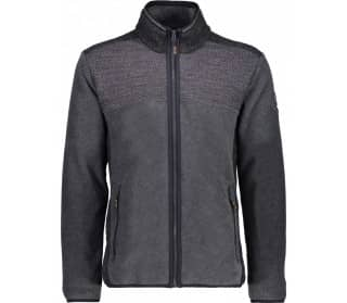 Antracite Men Fleece Jacket