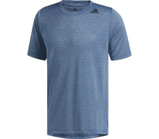 e37c267fec adidas Performance - Freelift Tech Fitted Climacool Hombre camiseta de  entrenamiento (azul)