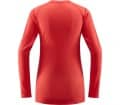 Haglöfs L.I.M Mid Roundneck Women Functional Top red