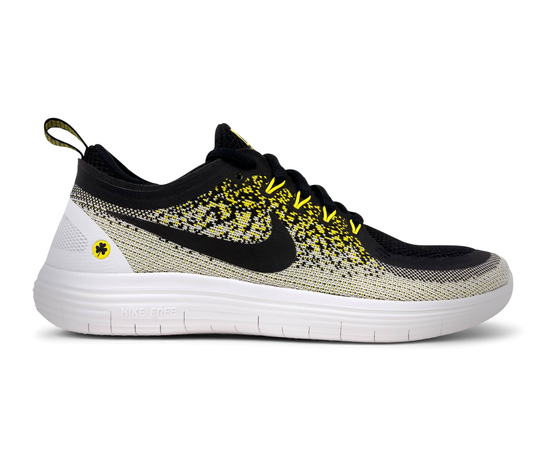 c85c2ff1bd30 Nike - Free RN Distance 2 BSTN women s running shoes (black yellow ...