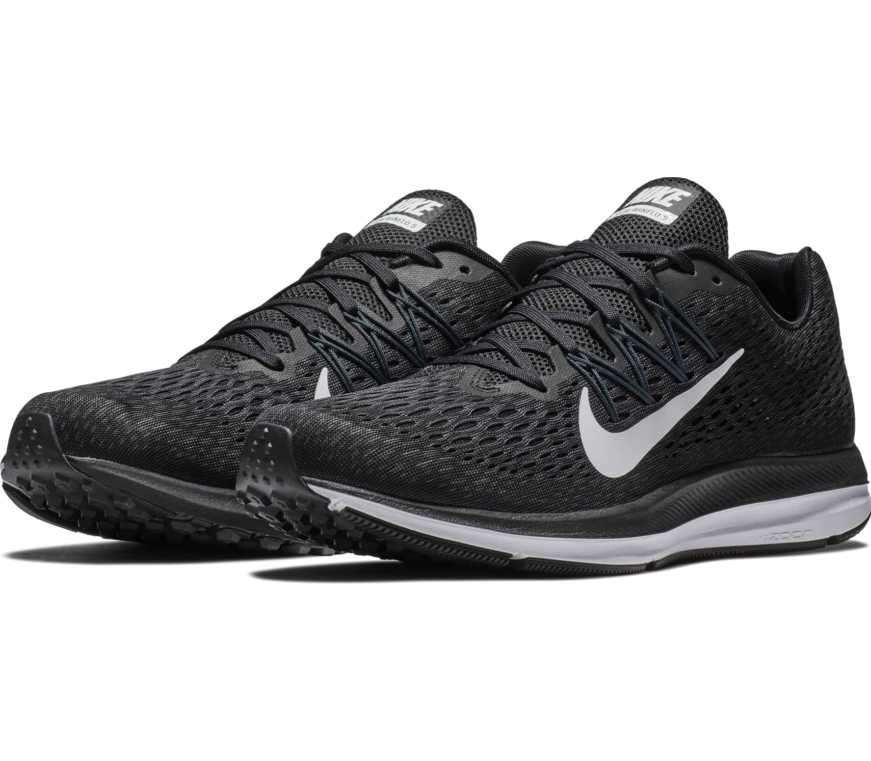 best website f9c10 384b8 Nike - Air Zoom Winflo 5 men's running shoes (black)