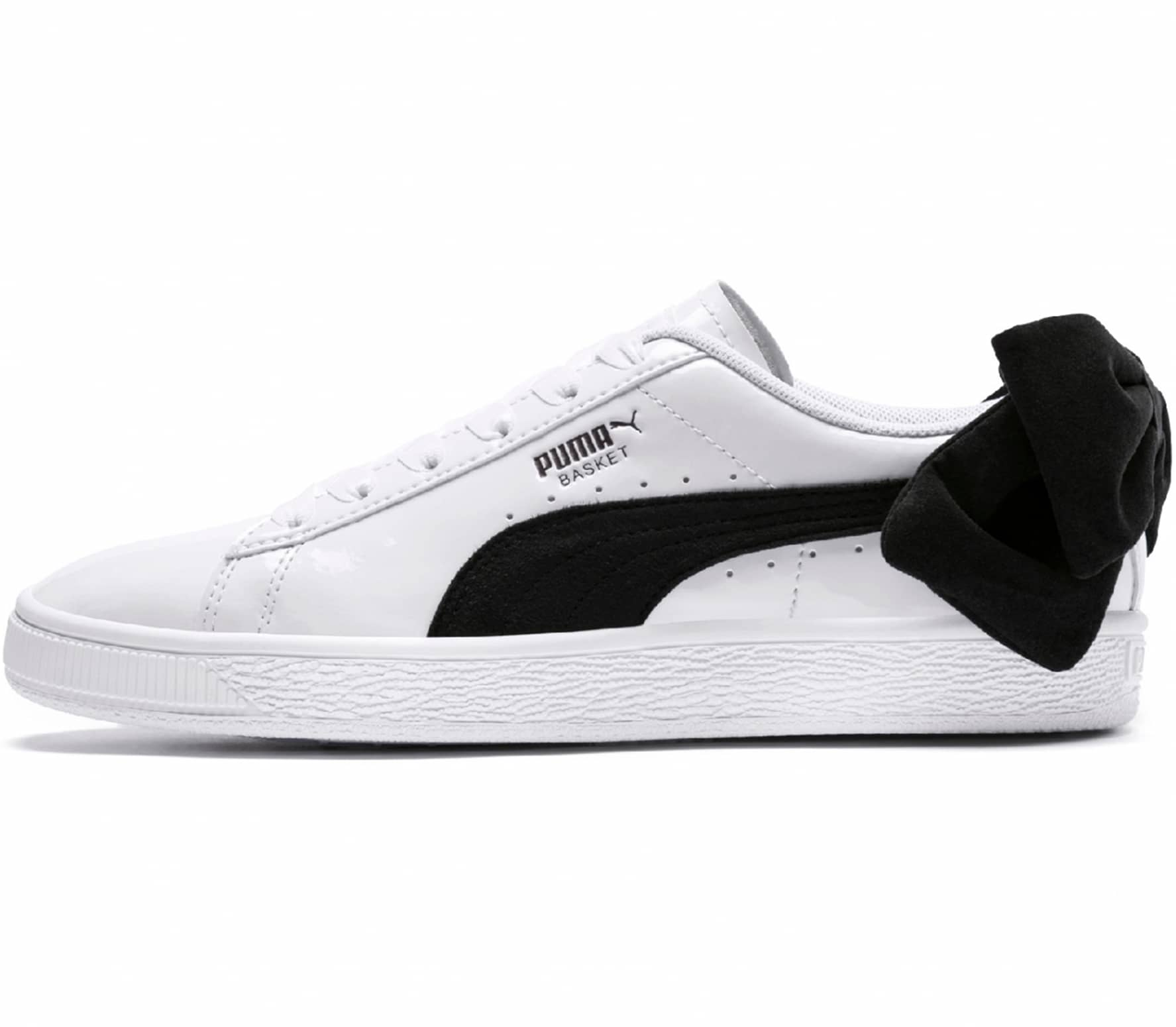 8e78bc25910 Puma Basket Bow SB women s trainers (white black) online kaufen ...