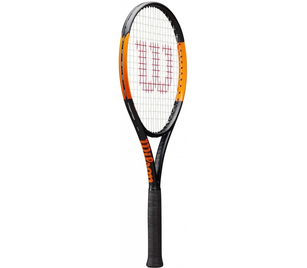 Wilson - Burn 100 S tennis racket (black/orange)