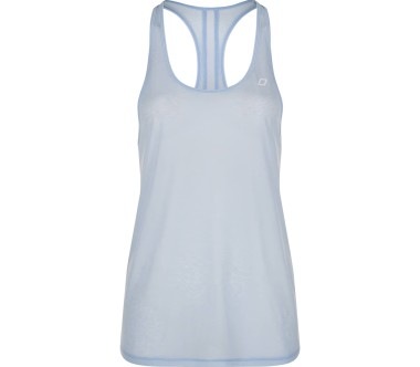 Lorna Jane - Superfine Excel Run women's training tank top top (light blue)