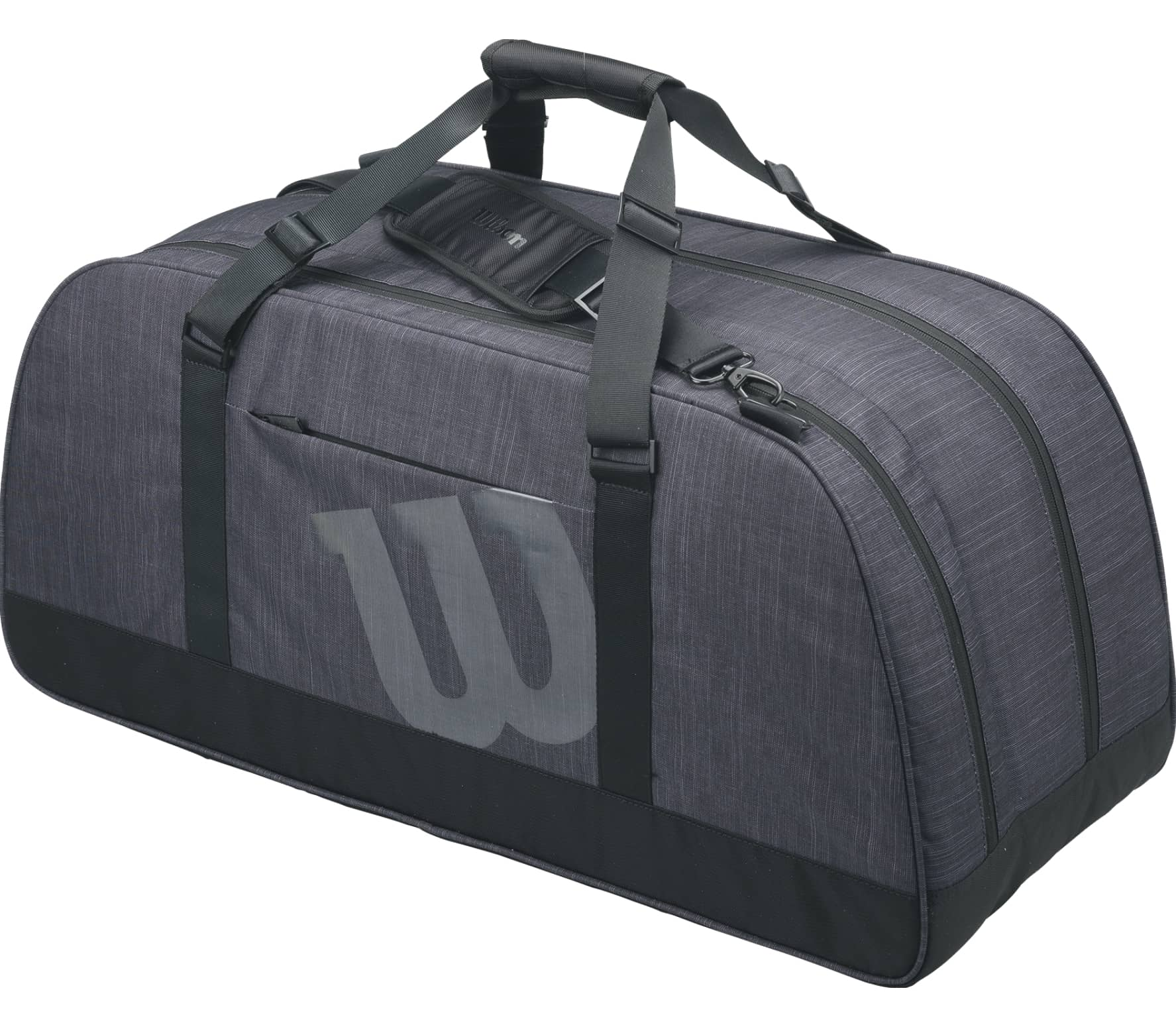 7b511bf3aa Wilson - Agency duffel bag Large tennis bag (grey) - buy it at the ...