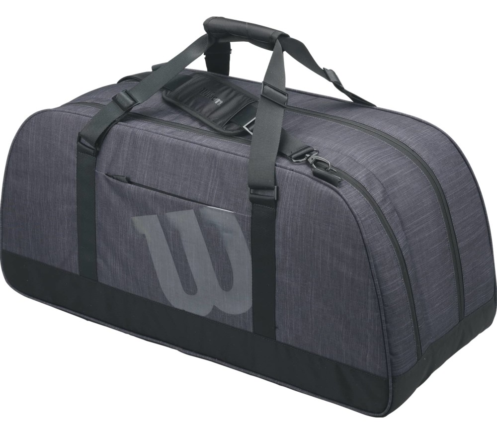 Wilson - Agency duffel bag Large tennis bag (grey)