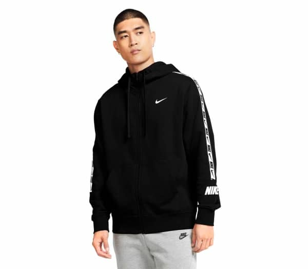 NIKE SPORTSWEAR Repeat FT Men Zip-up Sweatshirt - 1