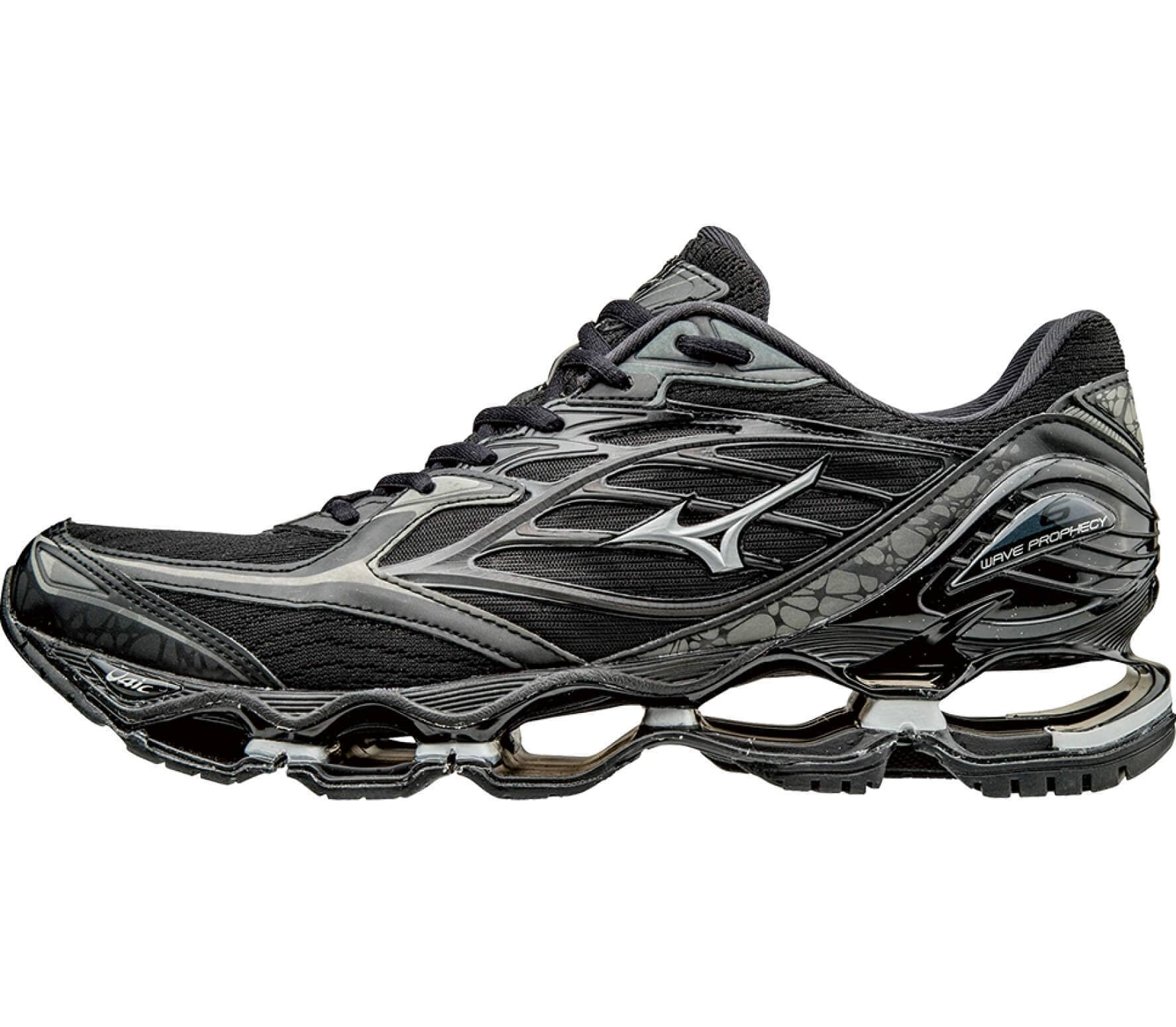 Mizuno - Wave Prophecy 6 Nova men s running shoes (black silver ... d04c080c5