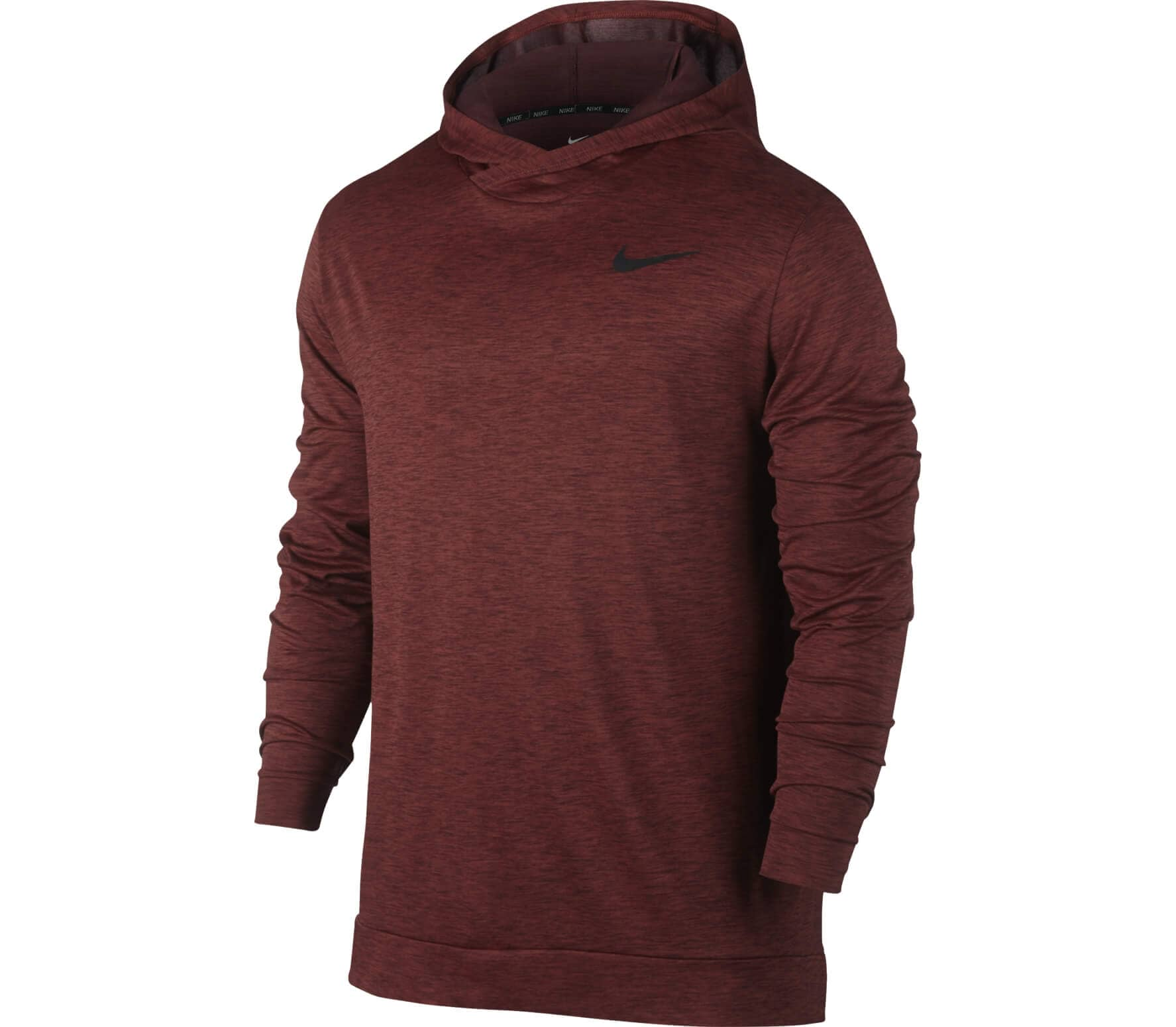 0840c175f Nike - Breathe HD Hyper Dry men's training hoodie (red/black) - buy ...