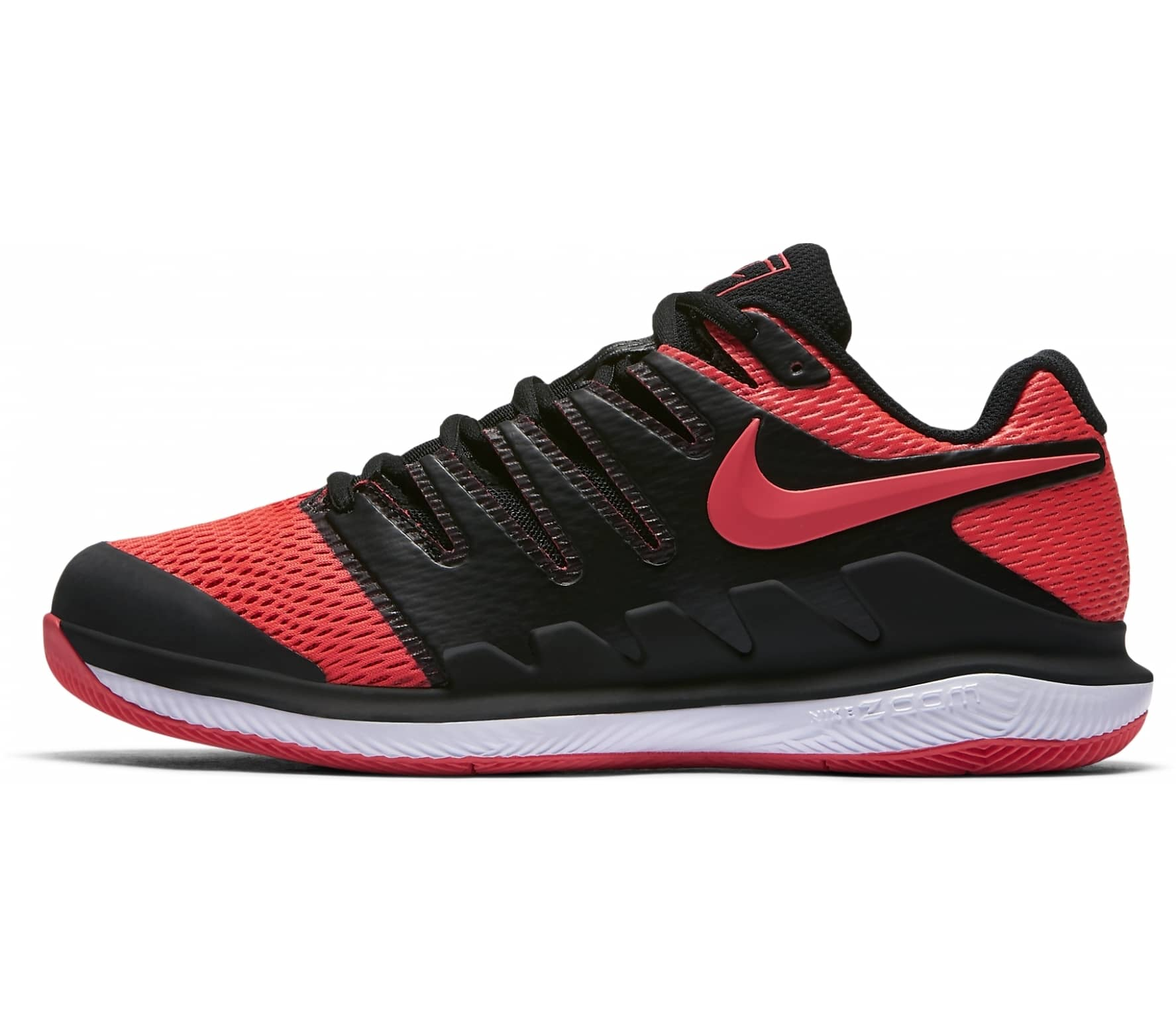 the latest 9cd3f 29d11 Nike - Air Zoom Vapor X Femmes Chaussure de tennis (noir rouge)