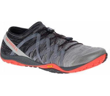 Merrell - Trail Glove 4 Knit men's mountain lifestyle shoes (grey/red)