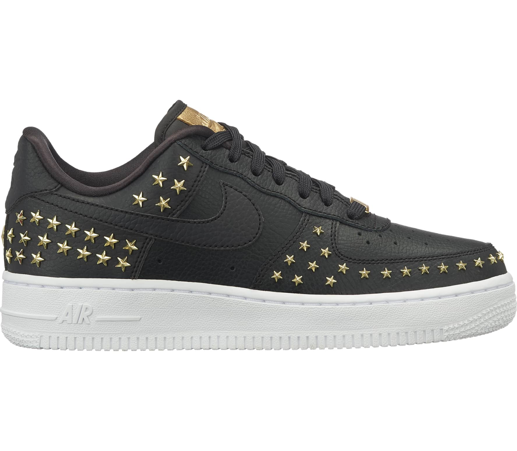 nike sportswear air force 1 39 07 xx damen sneaker schwarz. Black Bedroom Furniture Sets. Home Design Ideas