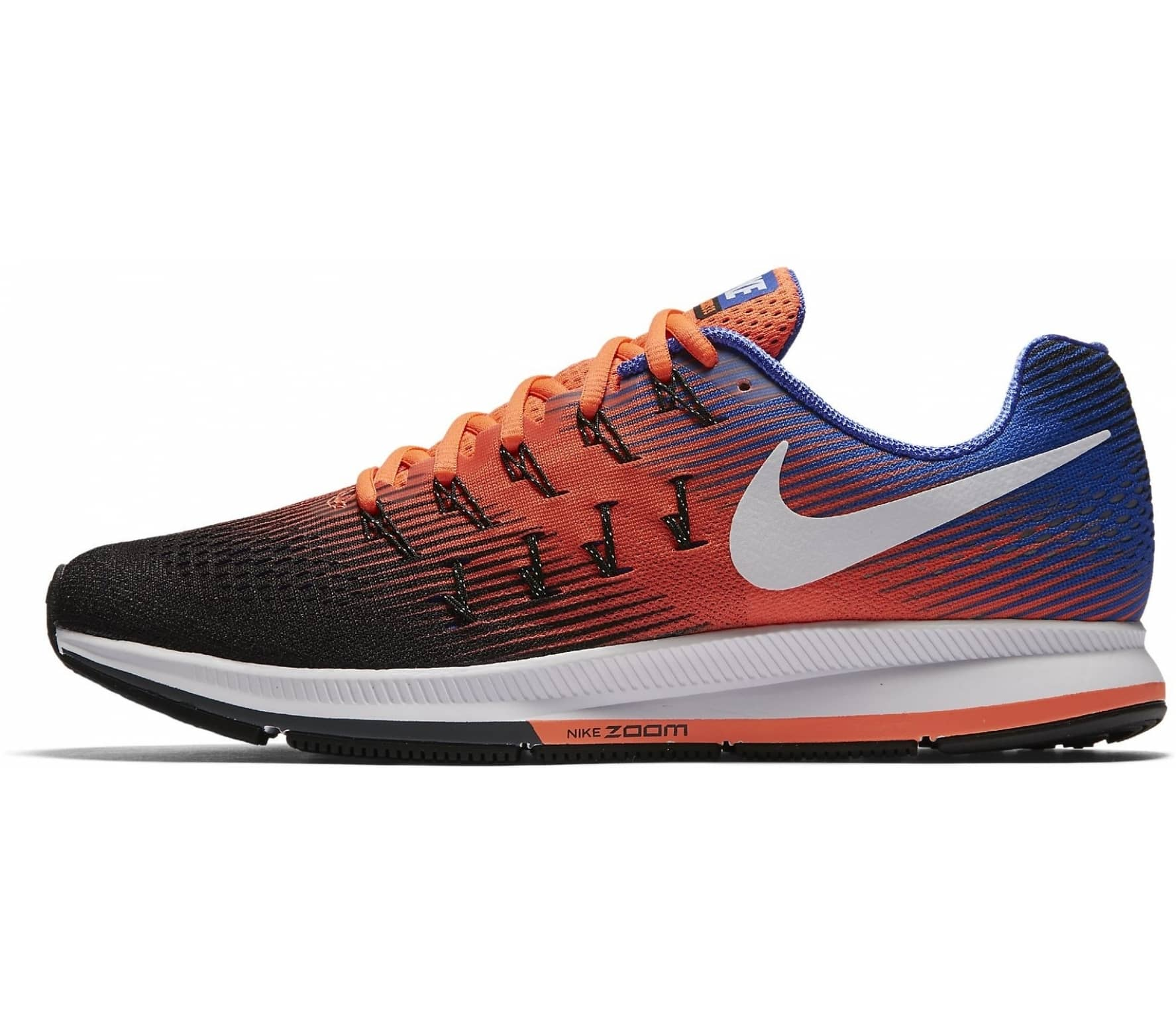 d09af9e21a9 Nike - Air Zoom Pegasus 33 men's running shoes (orange/blue) online ...