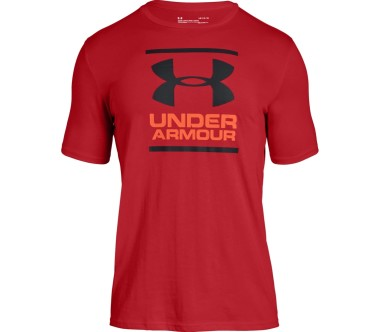 Under Armour - GL Foundation men's training top (red)