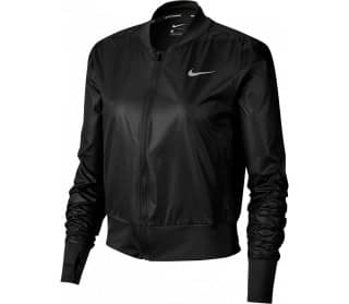 Black Damen Laufjacke