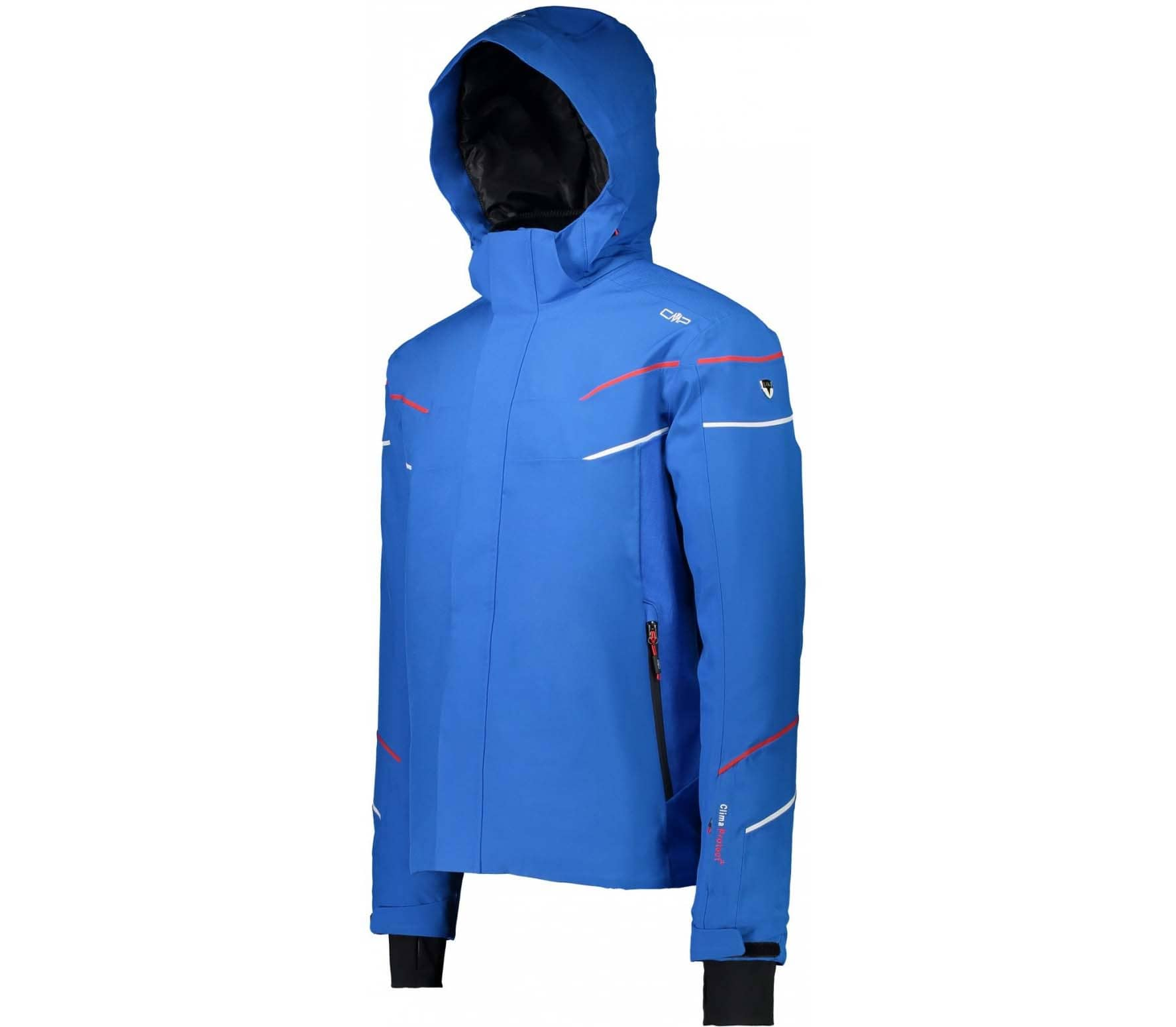 CMP Zip Hood men's skis jacket (blue)