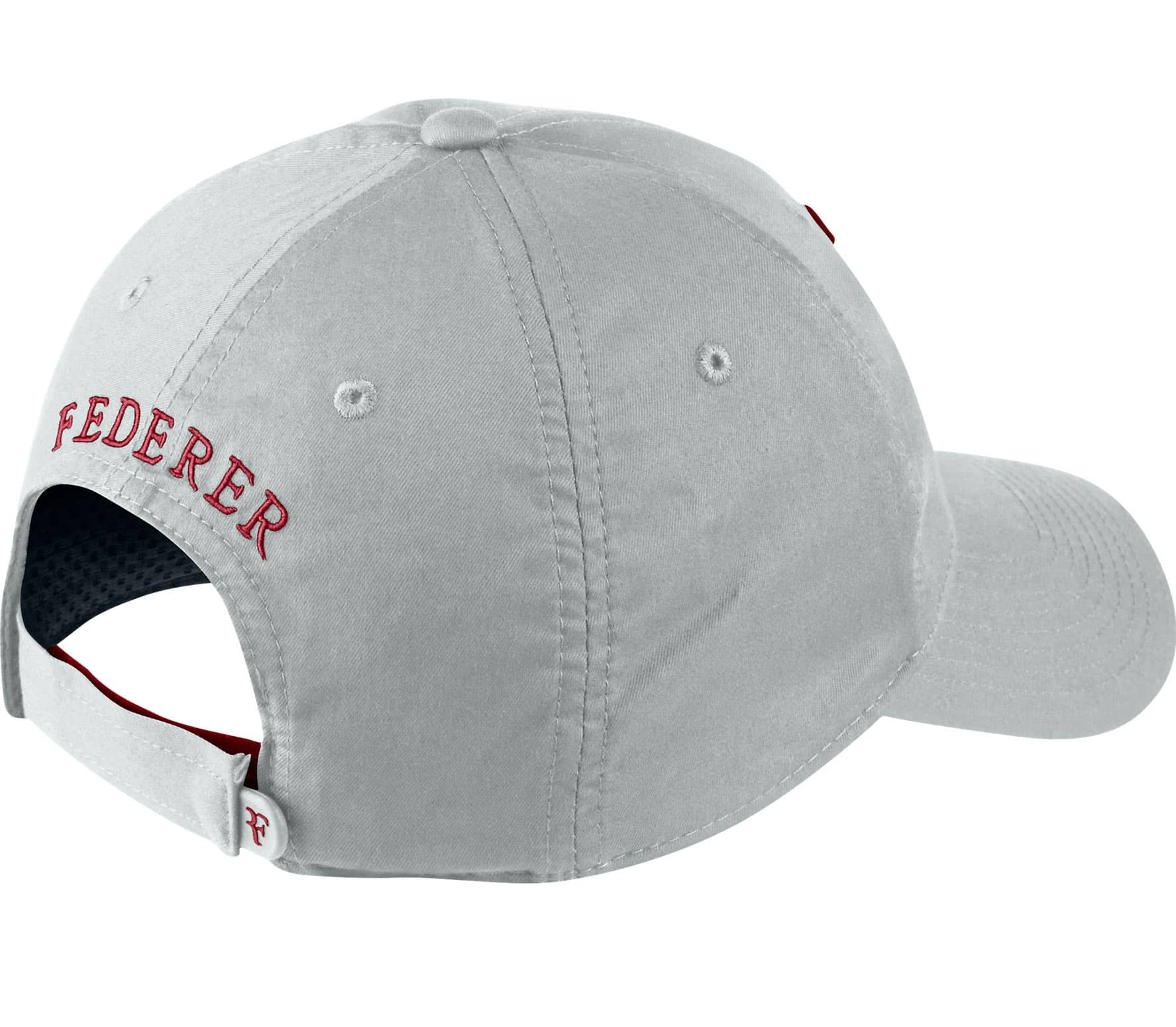 Nike - Hybrid Roger Federer Tennis cap (grey red) - buy it at the ... 29e99aefdab