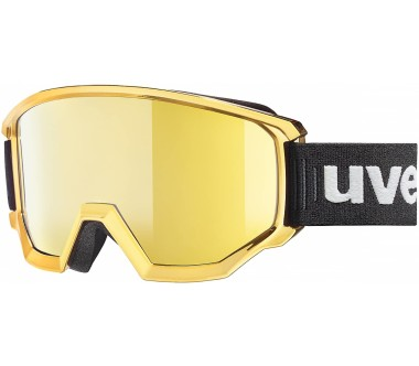 Uvex - Athletic Fm ski goggles (black/gold)