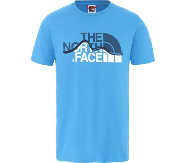 THE NORTH FACE Mountain Line Uomo Maglietta - 1