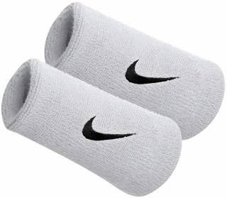 Nike Doublewide Wristbands 2-Pack Women Sweatband