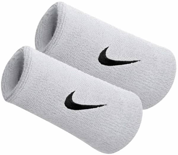 NIKE Doublewide Wristbands 2-Pack Women Sweatband - 1