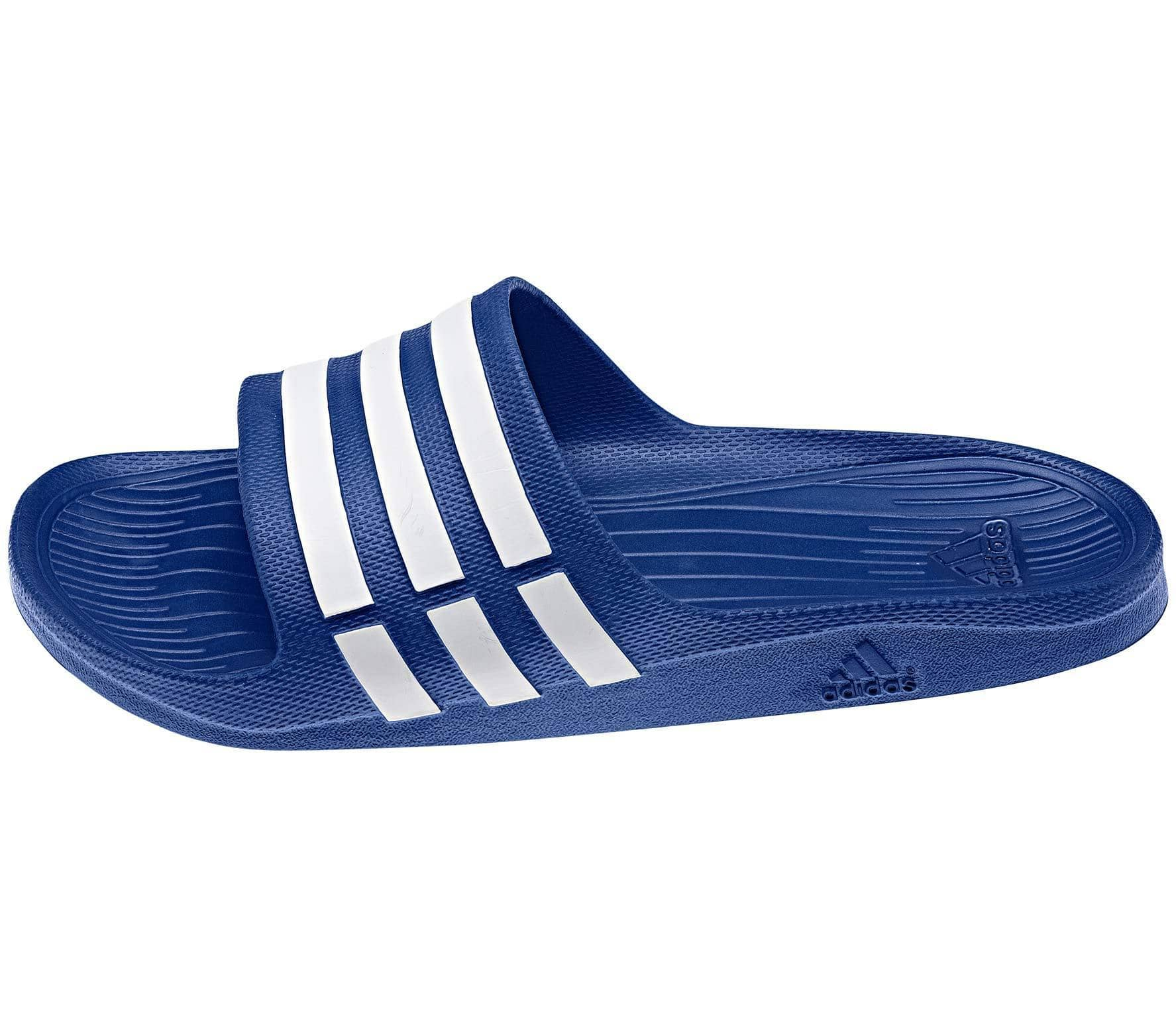 cheaper 5b1ad 3eea4 Adidas - Duramo Slide men s slides (blue white)