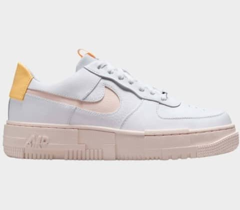 Air Force 1 Pixel 'Arctic Orange' Dam Sneakers