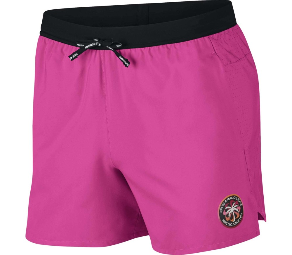 Nike Flex Stride 5 inch Hommes Short running rose
