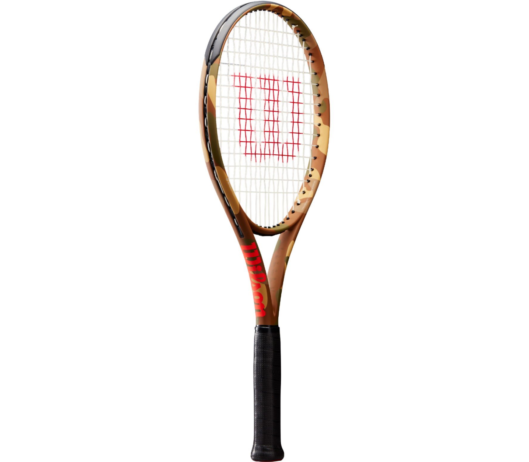Wilson - Burn 100 LS Camo tennis racket (orange)