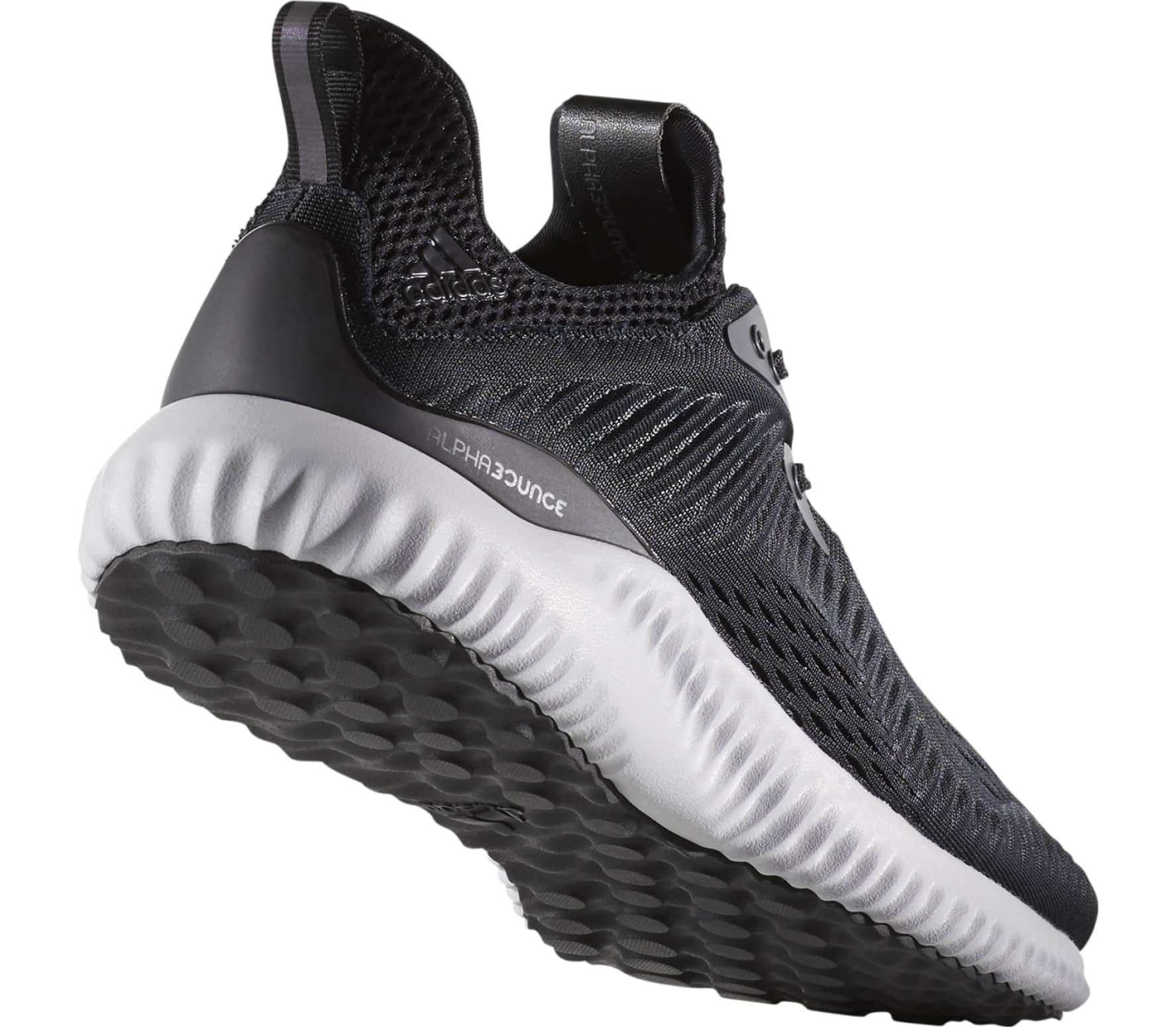 3c4671e8c482c Adidas - Alphabounce Em men s running shoes (black white) - buy it ...